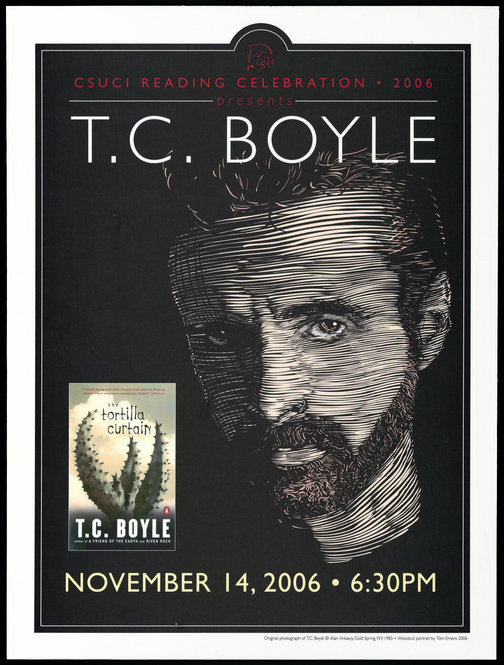 Author T. C. Boyle's archive acquired
