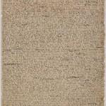 "Manuscript page of Charlotte Brontë's ""The Green Dwarf."" September 2, 1833."