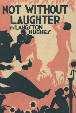 "Cover of Langston Hughes's ""Not Without Laughter,"" published by Knopf."