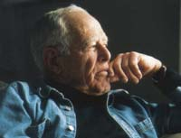 Photo of James Salter by Linda Gervin.