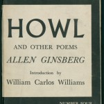 """Howl and Other Poems"" by Allen Ginsberg. Published in 1956 by City Lights Pocket Bookshop, signed by Ginsberg and inscribed to Edith Sitwell. In 1955, writer Lawrence Ferlinghetti, owner of San Francisco's City Lights Bookshop, launched the first American publishing company dedicated to editions of poetry printed in paperback. With its iconic cover and small size, City Lights Publishers' Pocket Poetry Series became an enormous success and published such well-known poets as Denise Levertov, Gregory Corso, and Frank O'Hara. Ferlinghetti and City Lights are perhaps best known for their role in the widely publicized obscenity trial revolving around the publication of Allen Ginsberg's ""Howl and other Poems"" in 1956. Drafts of the poems in this volume, as well as correspondence related to the trial, are housed in the Allen Ginsberg collection at the Ransom Center."