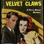 """The Case of the Velvet Claws"" by Erle Stanley Gardner. 1948. Like many genre authors of his generation, mystery writer Erle Stanley Gardner got his start by publishing stories in pulp fiction magazines such as ""Black Mask"" and ""Detective Fiction Weekly."" These magazines were known for their low-quality paper, inexpensive prices, and escapist, sensational tales featuring tough-talking heroes, pretty girls, exotic settings, and mysterious villains. Eventually the pulp magazines of the 1920s and 1930s would be replaced by new media such as radio, TV, comics, and films—and, in particular, cheap paperbacks. Gardner was one of the first of the pulp writers to make the switch to paperbacks, a move that quickly increased his popularity and finances. Other writers that successfully transitioned from pulp magazines to paperbacks include Edgar Rice Burroughs, Ray Bradbury, H. P. Lovecraft, Raymond Chandler, and Dashiell Hammett. The Erle Stanley Gardner collection at the Ransom Center houses pulp magazines and novels that span the author's nearly 50-year career as a crime and mystery writer."