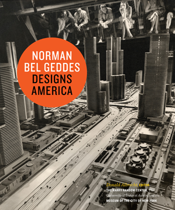 """Norman Bel Geddes Designs America"" receives media attention"