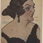 Actress Trinidad Rosales, by Manuel Tovar.