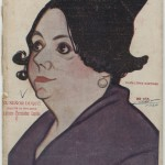 Actress María López Martinez, by Manuel Tovar.
