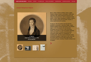 New websites for the Gutenberg Bible and the First Photograph