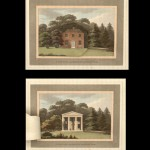 "Humphry Repton's ""Observations on the Theory and Practice of Landscape Gardening,"" Including Some Remarks on Grecian and Gothic Architecture. London: Printed by T. Bensley for J. Taylor, 1803. The hand-colored illustrations have unique folding flaps that show the ""before"" and ""after"" views of the changes that landscaper Repton wrought at great estates and at great expense."