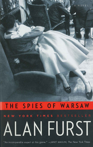 "Cover of Alan Furst's ""The Spies of Warsaw."""