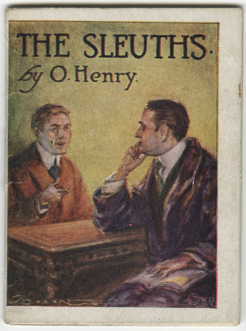"This tiny volume, featuring a Sherlockian parody by O. Henry, formed one of a series of ""The World's Best Short Stories"" distributed with packets of cigarettes."