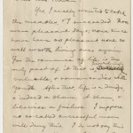 Letter from Samuel Clemens to Mrs. Dora Goff Bowen, dated June 6, 1900.