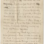 Second page from a letter from Samuel Clemens to Mrs. Dora Goff Bowen, dated June 6, 1900.
