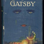 "The first edition of ""The Great Gatsby"" (New York: Scribner's, 1925). The dust jacket by Francis Cugat incorporates several themes of the novel, while maintaining a certain ambiguity. The eyes most likely belong to Daisy, ""the girl whose disembodied face floated along the dark cornices and blinding signs"" of Jay Gatsby's consciousness. The jacket was completed before the novel, and Fitzgerald was so fond of it that he claimed he wrote it into his book. Today, intact dust jackets are exceptionally valuable; both of our copies have been repaired."