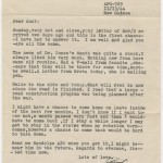"Phillips' father sends his regards to ""the kids"" in a 1944 letter."