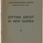 Wartime literature for troops in New Guinea. This pamphlet belonged to Jayne Anne Phillips' father.