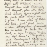 Summer in Santa Fe with Virgil Thompson: In Virgil Thompson's 1962 letter to his old friend Alice B. Toklas, the longtime companion of writer Gertrude Stein with whom Thompson had collaborated on several occasions, the composer shares his enjoyment of the West in general and Santa Fe in particular.