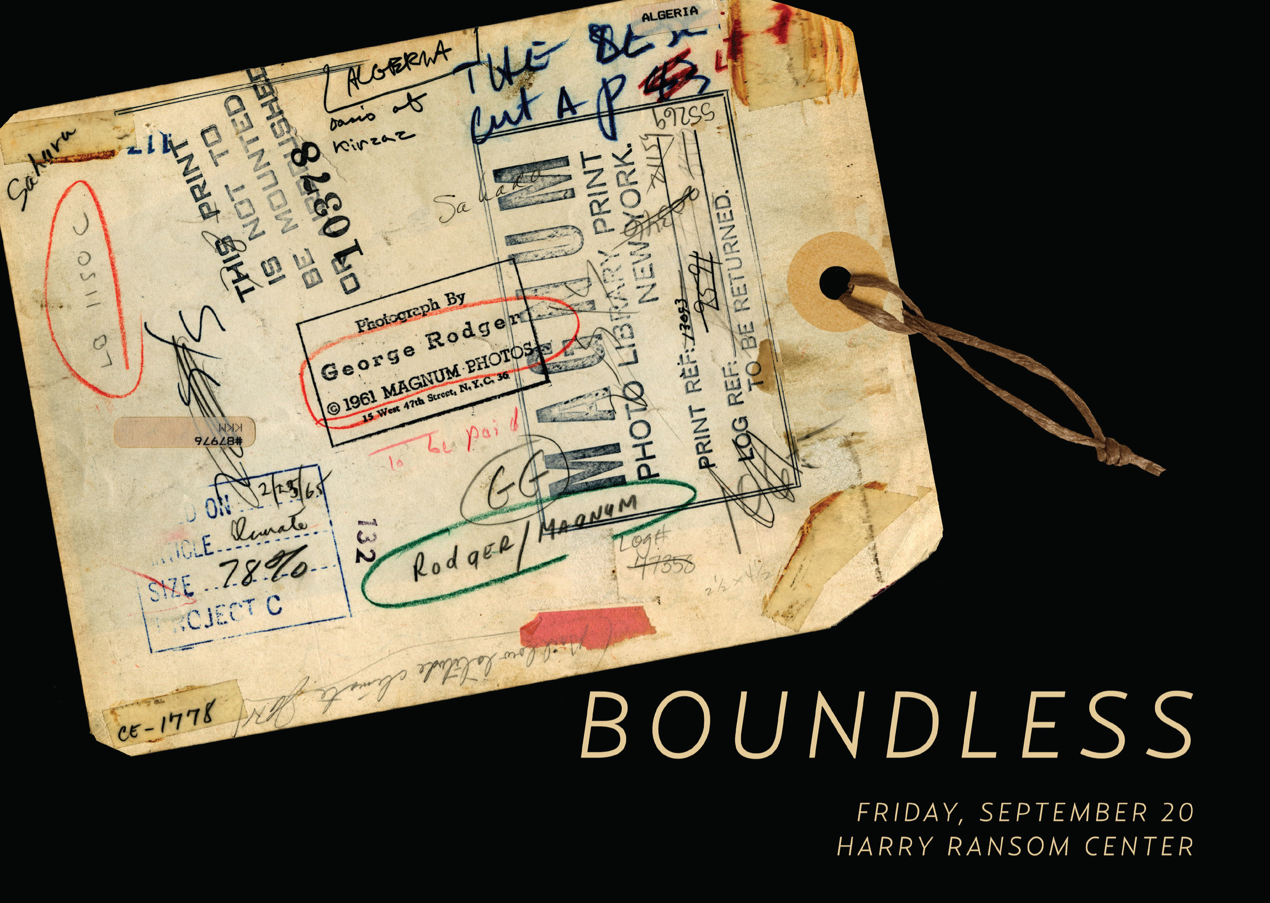 "Enter to win tickets to ""Boundless"""