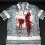 "Shirt worn by Robert De Niro in ""Cape Fear."" Photo by Anthony Maddaloni."