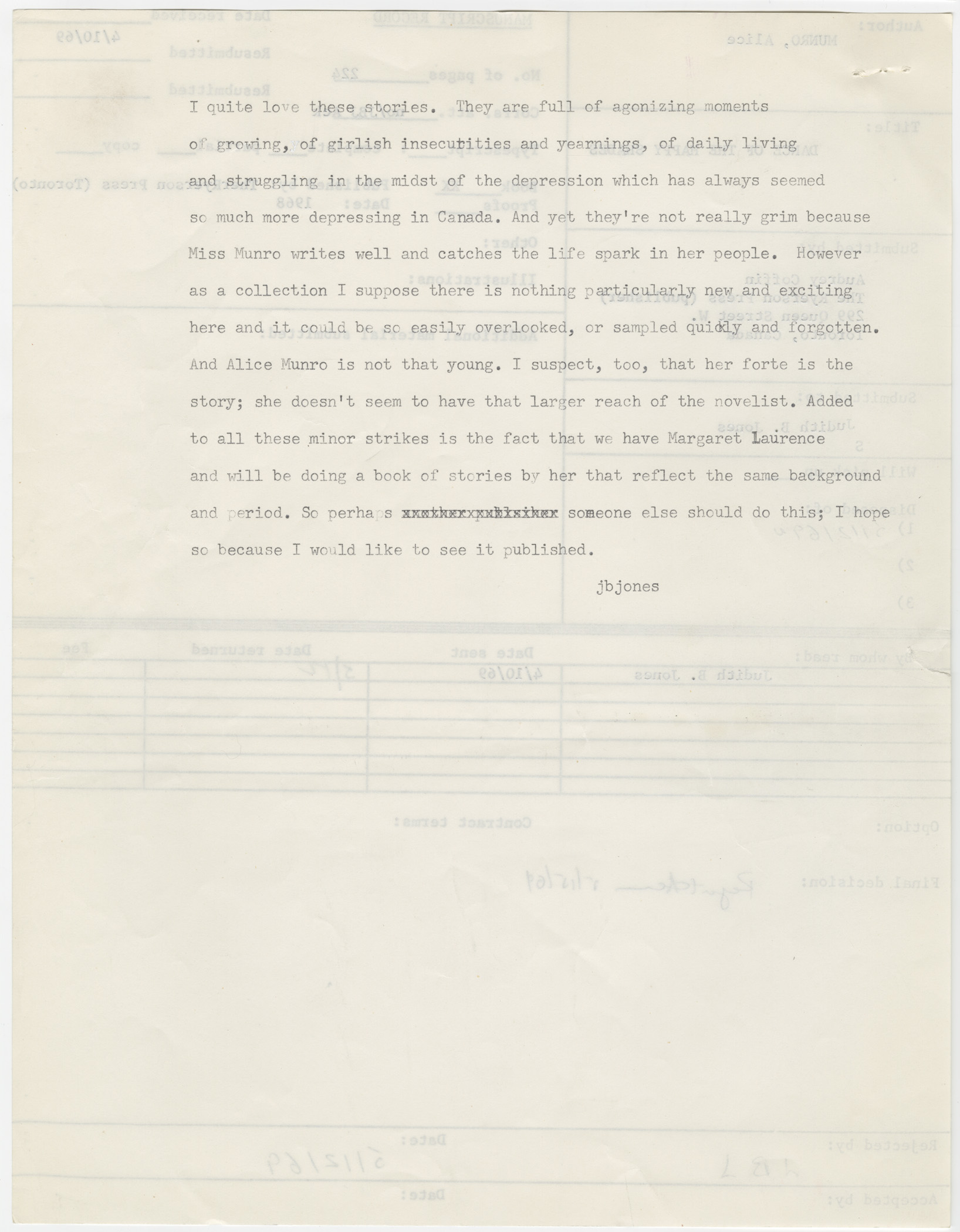 October - 8 rejection letters famous people prove never give