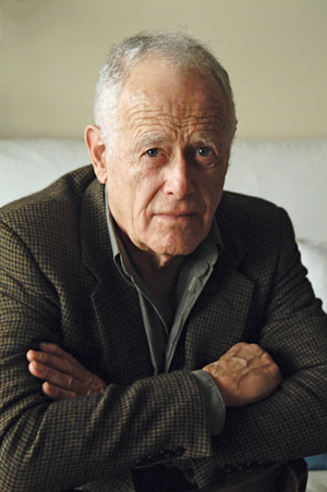 Photo of James Salter by Corina Arranz.