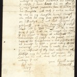 Letter from Oliver Cromwell to Colonel Richard Norton, M.P. for Hants, about a proposed marriage for his son, 1647/1648 February 25.