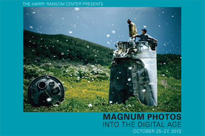 "Registration closes next week for symposium  ""Magnum Photos into the Digital Age"""