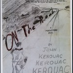 "Art concept related to Ed Ruscha's artist book edition of Jack Kerouac's novel ""On the Road."" The edition was published in 2010."