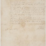 Letter from Sir Walter Raleigh, to Sir John Gilbert, the Younger, encouraging him to set out on an expedition to Ireland once he knows how he will be paid, circa 1590 October 31.