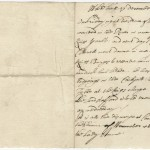 Newsletter from the office of Sir Joseph Williamson in Whitehall, London, to Sir Richard Bulstrode, Brussels, 1680 December 29. This letter discusses the arrival of Prince George of Hanover in London and the gossip at court that he was to marry Lady Anne. He and Anne did not marry, but he succeeded her in 1714 after her 12-year reign as monarch of Great Britain.