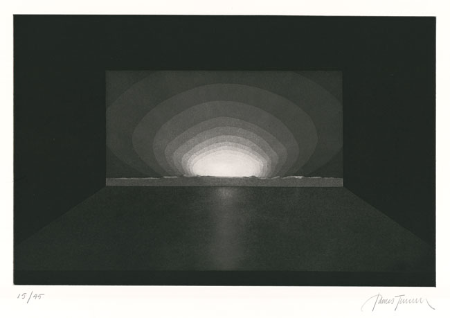 """James Turrell, Untitled, from """"Deep Sky."""" Published by Peter Blum Edition, New York, 1985. Courtesy Peter Blum Edition, New York and James Turrell Studio."""