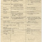 Chart comparing MGM's and Warner Brothers' production and financing options for Gone With The Wind, ca. 1937.