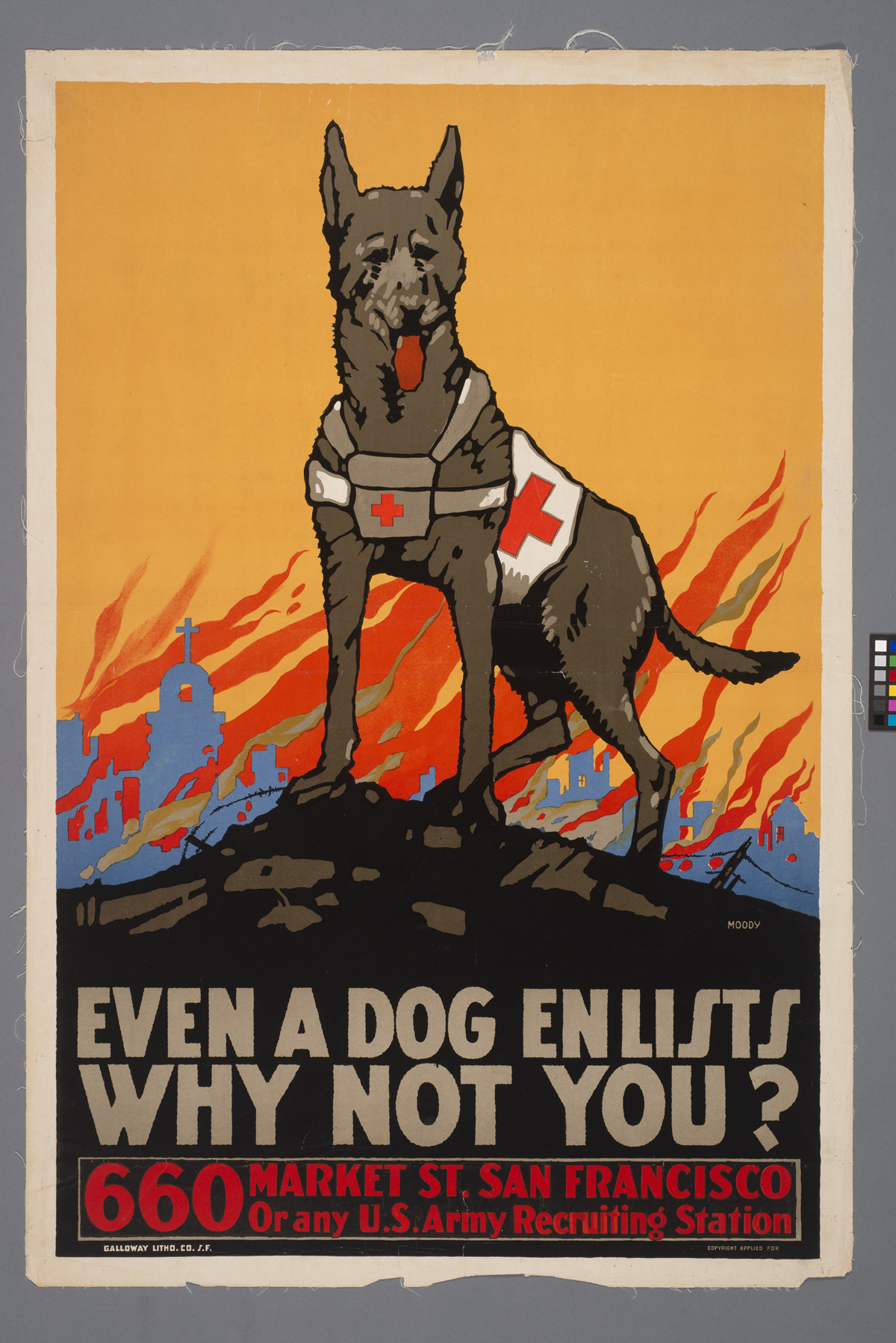 Propaganda poster from World War I.