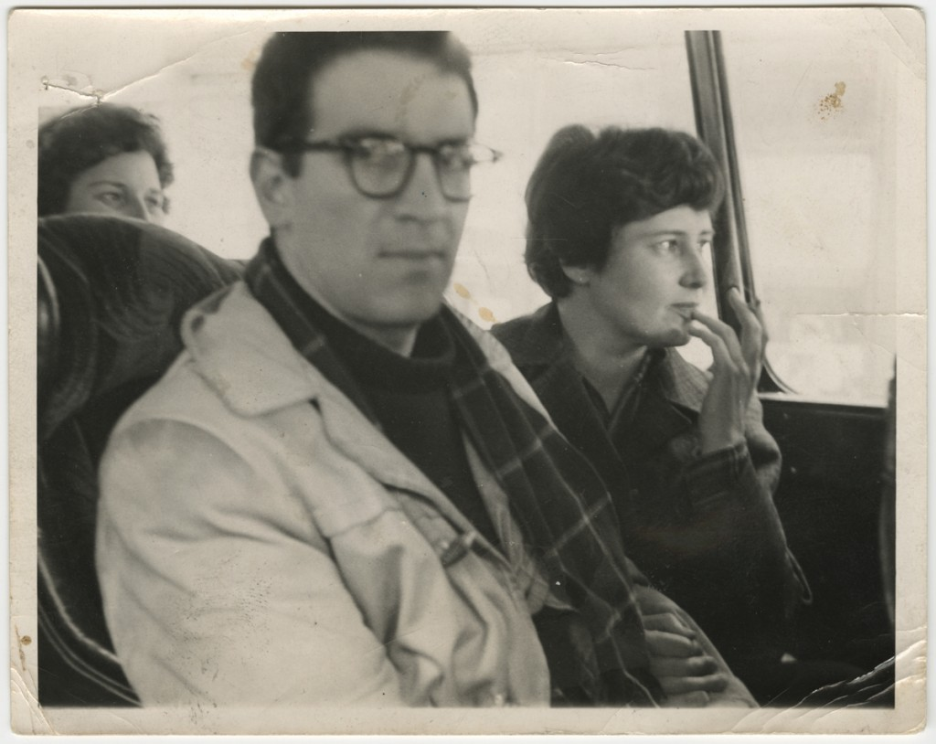 Clancy Sigal and Doris Lessing, ca. late 1950s.