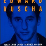 "Promotional poster for the exhibition ""Romance with Liquids: Paintings, 1966–1969"" at the Gagosian Gallery in 1993."