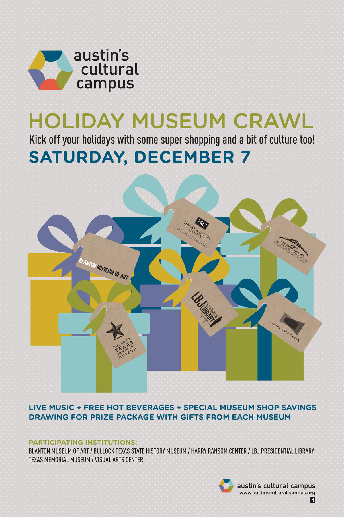 Austin's Cultural Campus hosts holiday crawl this Saturday