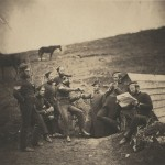 "Roger Fenton. ""L'Entente Cordiale,"" February 29, 1856. Salted paper print."