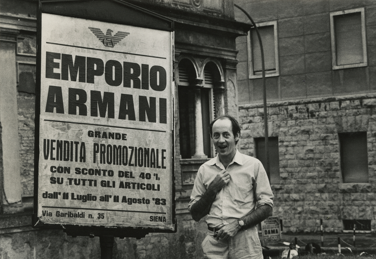 Undated photo of Billy Collins. Unknown photographer.