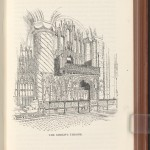 "An illustration by Joseph Pennell in ""Handbook of English Cathedrals"""