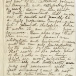 Correspondence from Joseph Pennell to Mariana Van Rensselaer