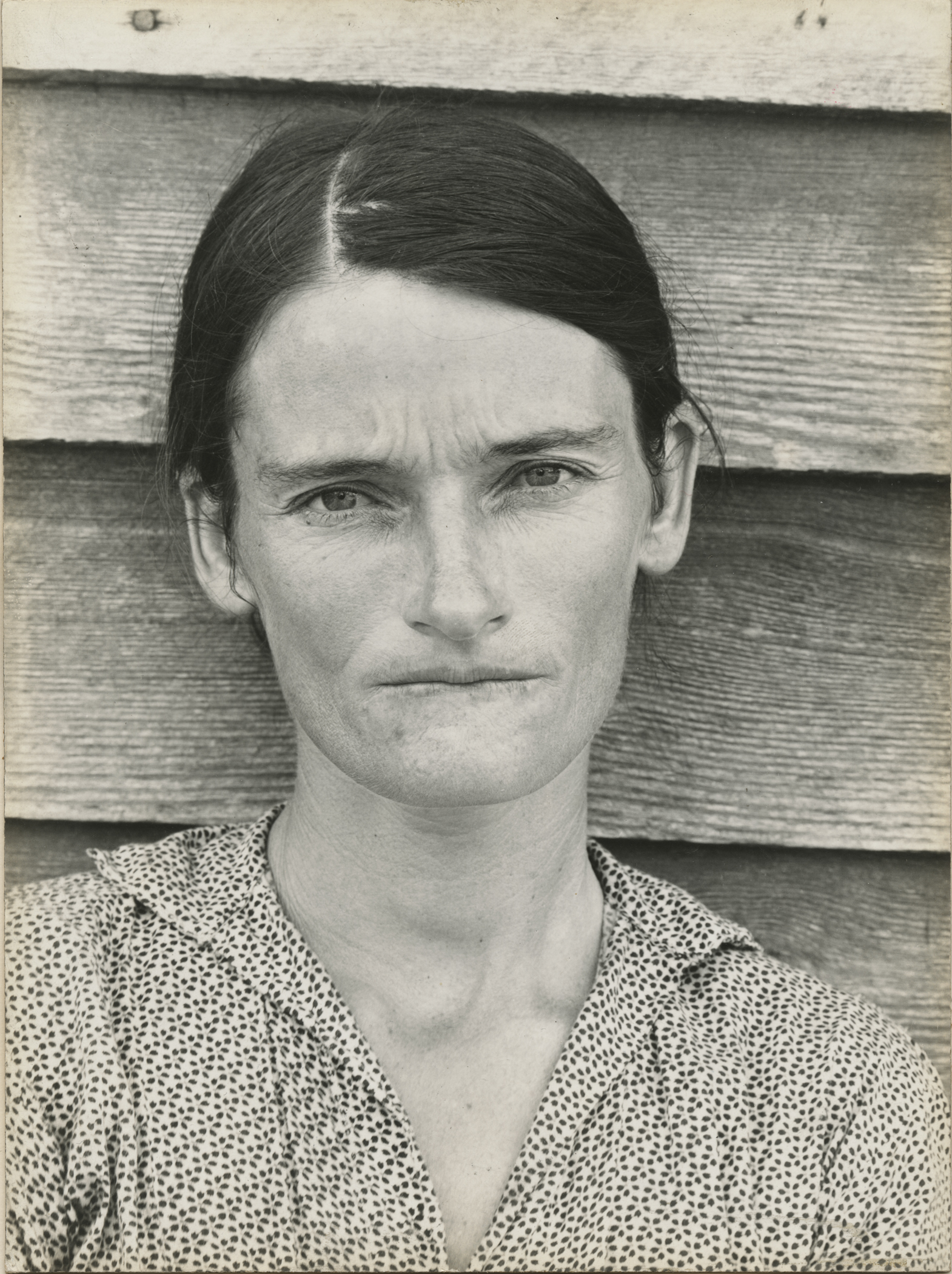 """Allie Mae Burroughs,"" Walker Evans, 1936"