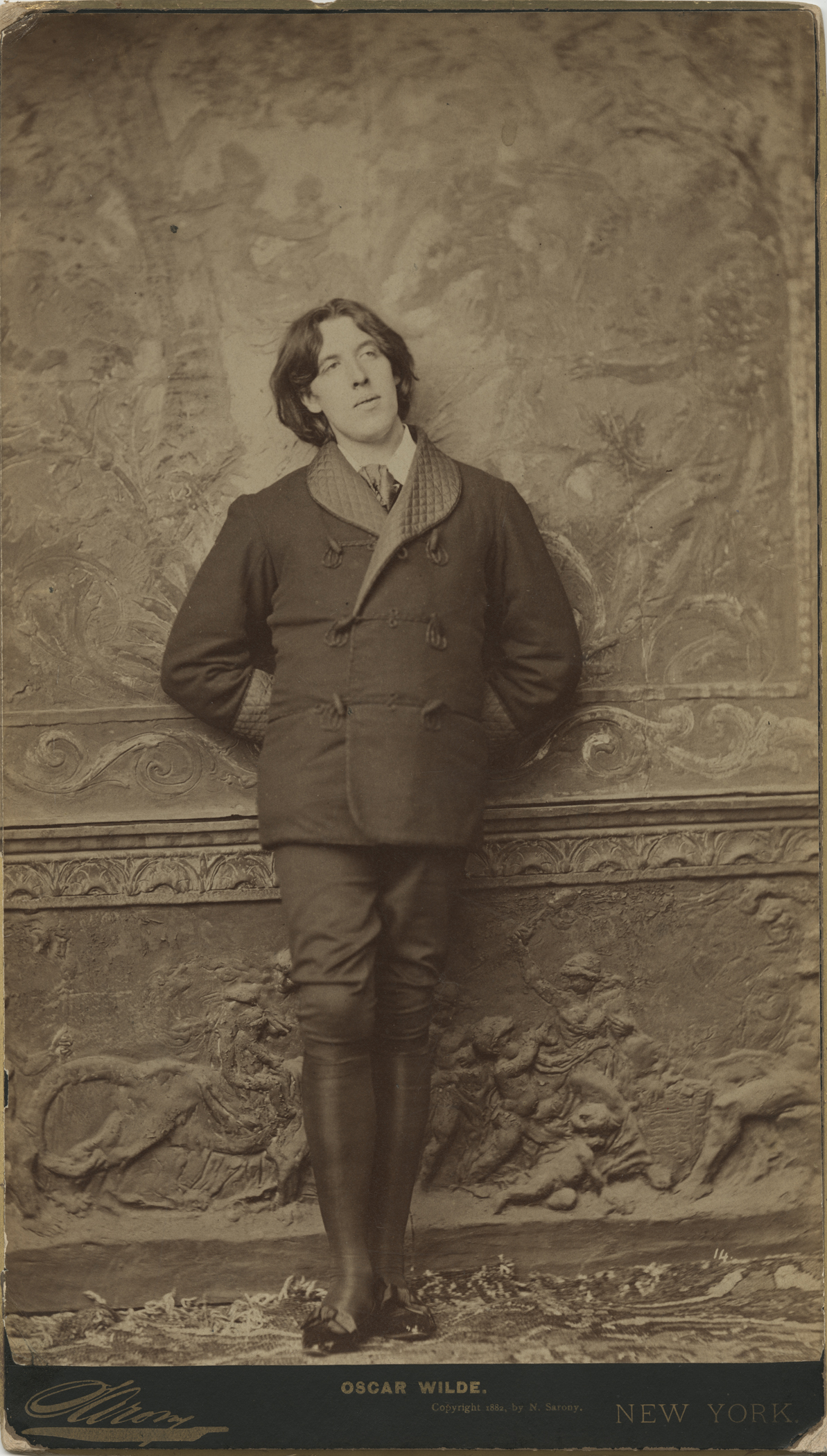 From the Outside In:  Napoleon Sarony's Portrait of Oscar Wilde, 1882