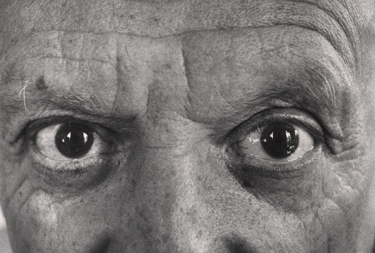 """Picasso's Eyes, 1957"" by David Douglas Duncan"