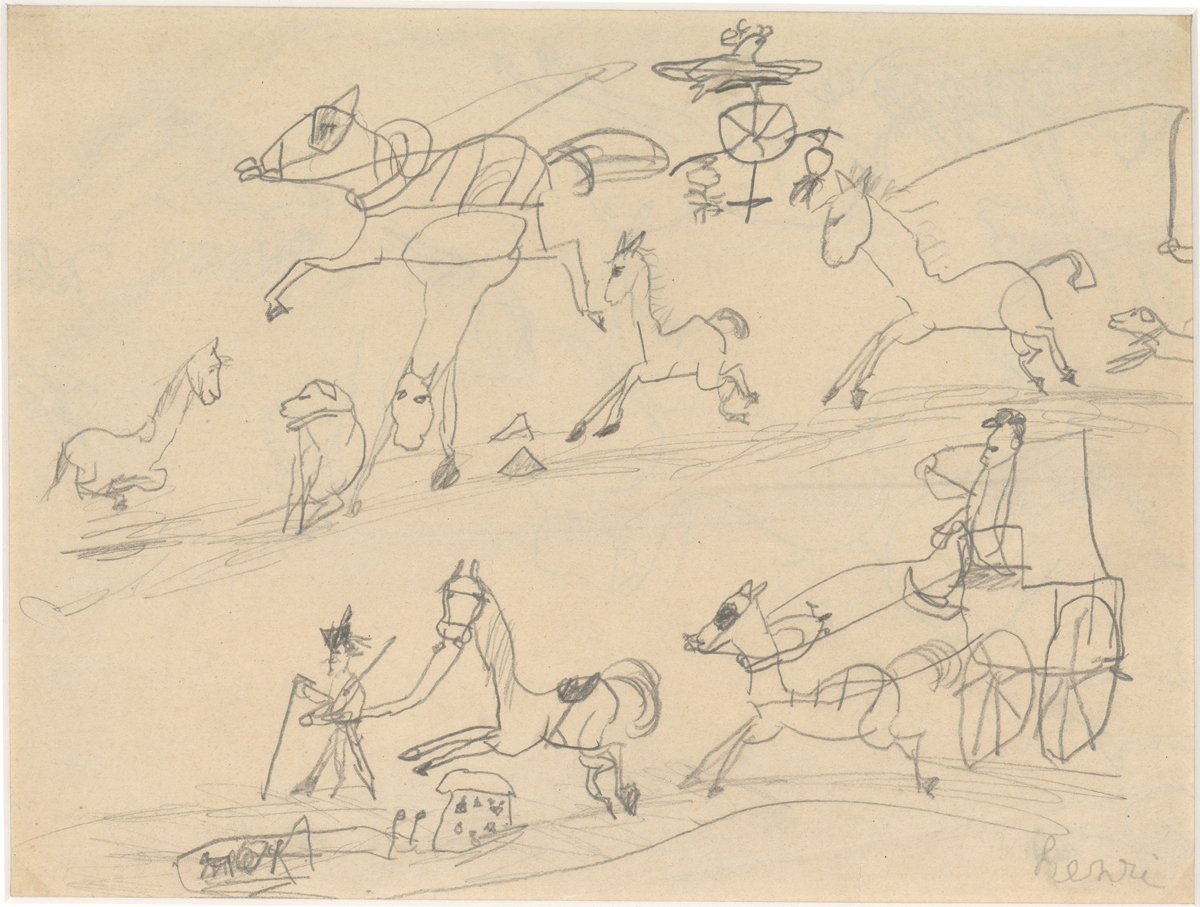 "From the Outside In: Henri de Toulouse-Lautrec's ""Childhood Drawings,"" ca. 1870–1871"
