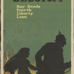 "Ellsworth Young. ""Remember Belgium. Buy bonds."" 1918. Lithograph. 77 x 51 cm."
