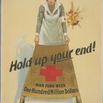 "William P. King. ""Hold up your end!"" ca. 1914–1918. Lithograph. 70 x 51.5 cm."