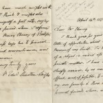A letter from James Edward Austen-Leigh (1798–1874) to Edward Cheney, dated April 14, 1870.