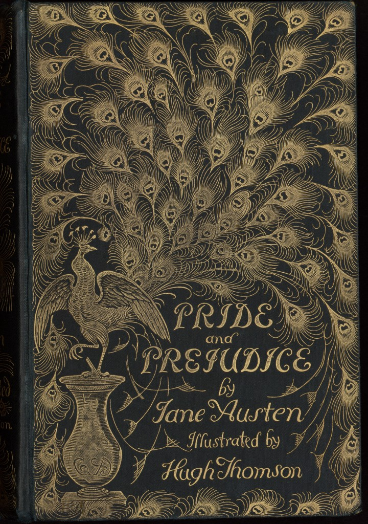 "Evelyn Waugh's copy of Jane Austen's ""Pride and Prejudice"" (London, 1894)."