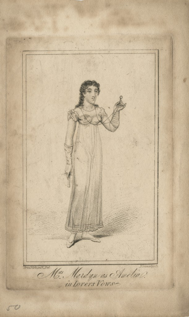"""Charlotte Mardyn as Amelia in """"Lovers' Vows"""" (n.d..)"""
