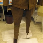 First fitting of jodhpurs with initial Fosshape leg. Photo by Jill Morena.