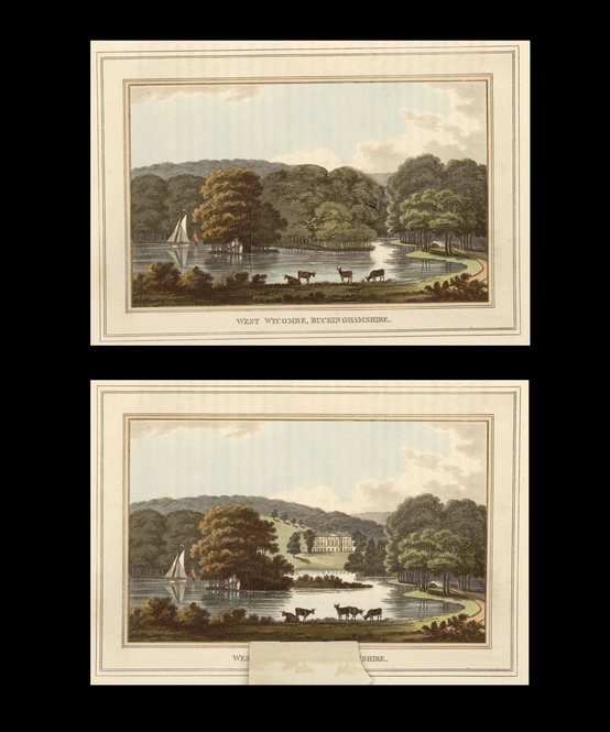 "Humphry Repton's ""Observations on the Theory and Practice of Landscape Gardening"" (London, 1803)."