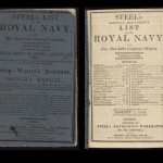 """David Steel's """"Original and Correct List of the Royal Navy,"""" Improved (London, 1814)."""
